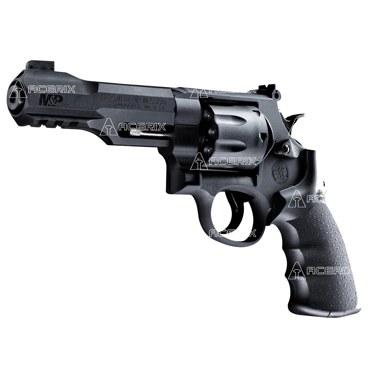 8bedf5102b Pistola Smith & Wesson M&P R8 4,5mm - Acerix Deportes Recreación ARMAS DE  AIRE COMPRIMIDO