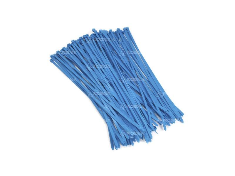 PRECINTOS PLASTICOS AZULES 3,6 X 120 MM